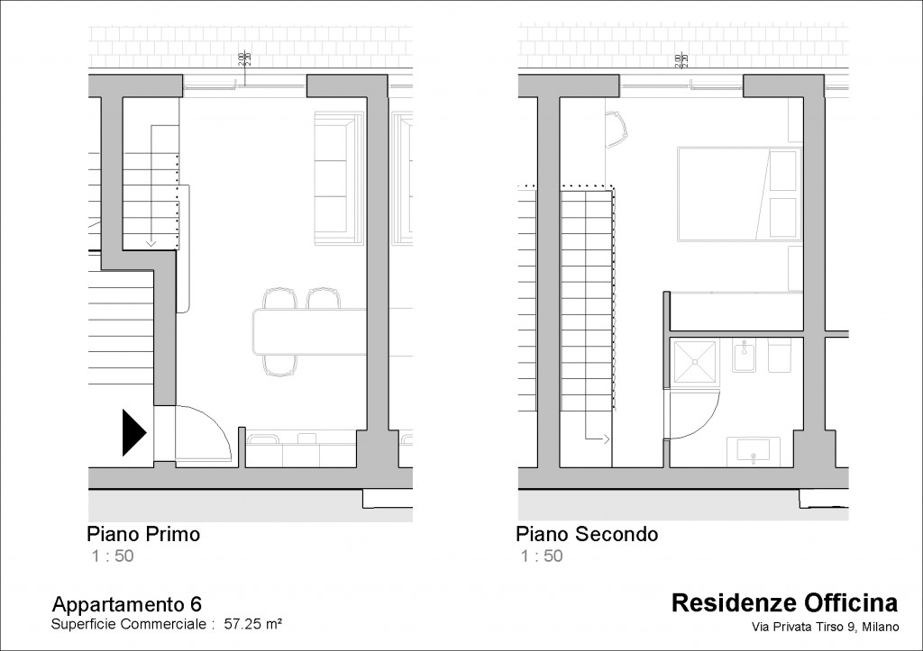Appartamento 6   Mq: 57,25